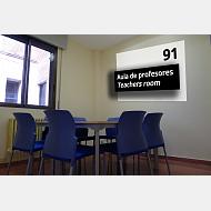 Aula de profesores / Teachers room
