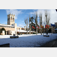 Nieve en la UBU