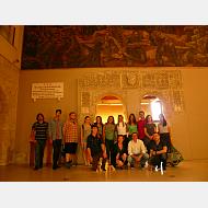 Arco de Santa maría, bajo la obra de Vela Zanetti