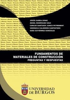 Imagen de la publicación: Fundamentos de materiales de construcción. Preguntas y Respuestas