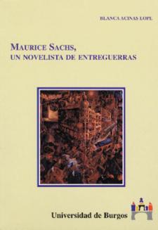 Imagen de la publicación: Maurice Sachs. Un novelista de entreguerras