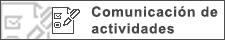 Formulario de comunicación de actividades