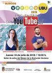 Flyer Encuentro con YouTubers 2019