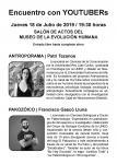 Flyer Encuentro con YouTubers 2019_02