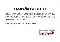 Cartel Campaña #YoAcojo