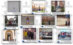 Estudiantes de movilidad internacional de la UBU