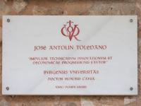 Vítor. Doctor Honoris Causa. Excmo. Sr. D. José Antolín Toledano