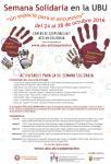 Cartel Semana Solidaria 2016