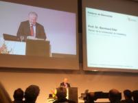 Apertura del Congreso a cargo del Rector de la Universidad de Heidelberg,  Dr. Bernhard Eifel