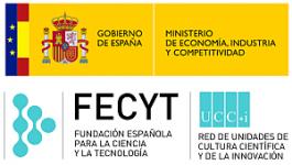 Logos de la FECYT y Ministerio de Economía, Industria y Competitividad