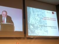 Conferencia inaugural a cargo del Dr. Roberto González Echevarria, Yale University