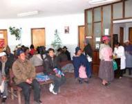 Sala de espera del Hospital Bracamonte