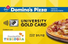 Portada University Gold Card Domino's