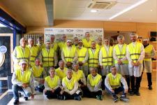 Alumnos de GIOI visitan LOreal Burgos